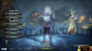 Van Helsing character selection screen with Umbralist class shown