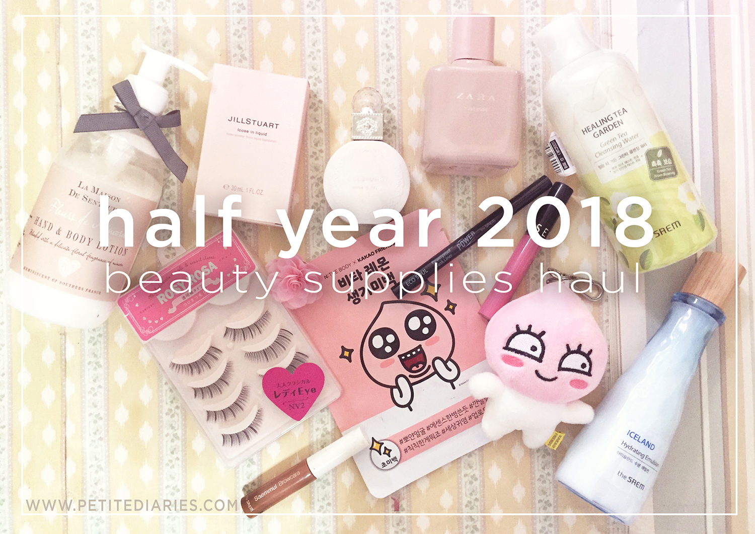 half year beauty haul