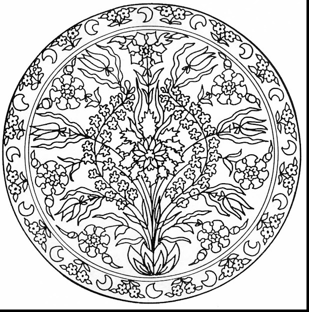 Outstanding Adult Mandala Coloring Pages With Kaleidoscope Coloring Pages  And Kaleidoscope Coloring Pages