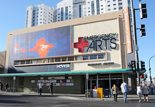 Emergency Arts em Downtown Las Vegas