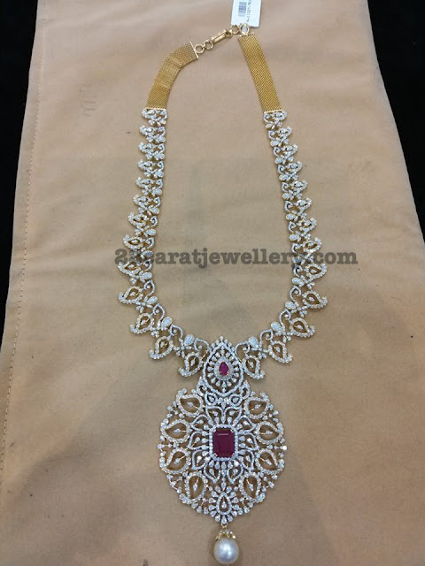 Thin and Light Weight Diamond Mango Set