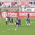 Inter empata jogo-treino com equipe B; D'Ale sai mais cedo sentindo o tornozelo esquerdo