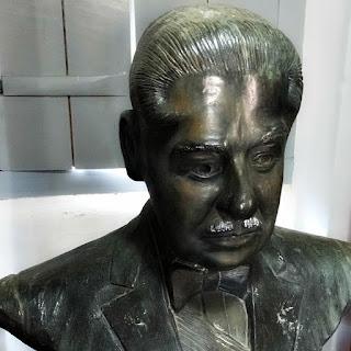 Busto de Costa e Silva no Museu Casa Costa e Silva, Taquari (RS)