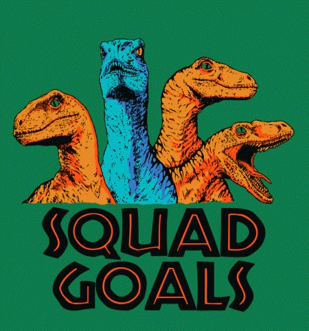 Squad Goals Graphic Tee