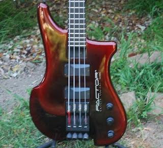 Rex And The Bass 1990 Philip Kubicki Fcs Ex Factor Bass