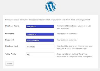 Install Wordpress Localhost