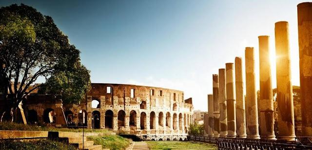 El coliseo y Derecho romano
