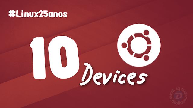 Ubuntu em 10 dispositivos diferentes