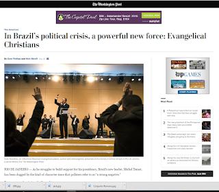 Pastor conservador Silas Malafaia sai na primeira página do Washington Post; confira!