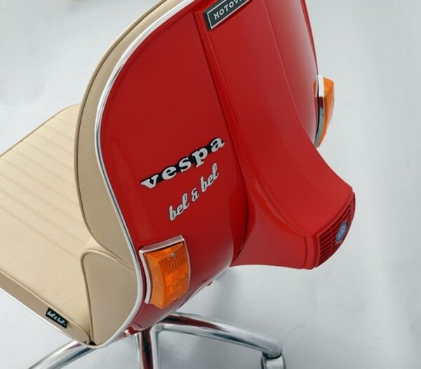 Vespa inspired chair