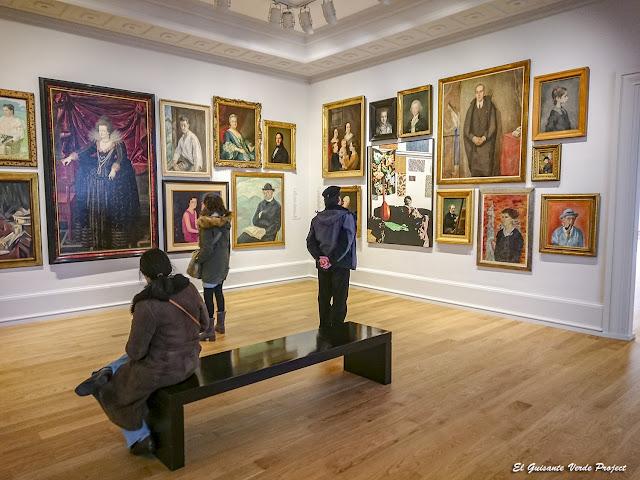 Sala de Retratos - Museo Bilbao por EGVP