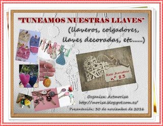 "Reto amistoso nº 83 ""tunear llaves"""