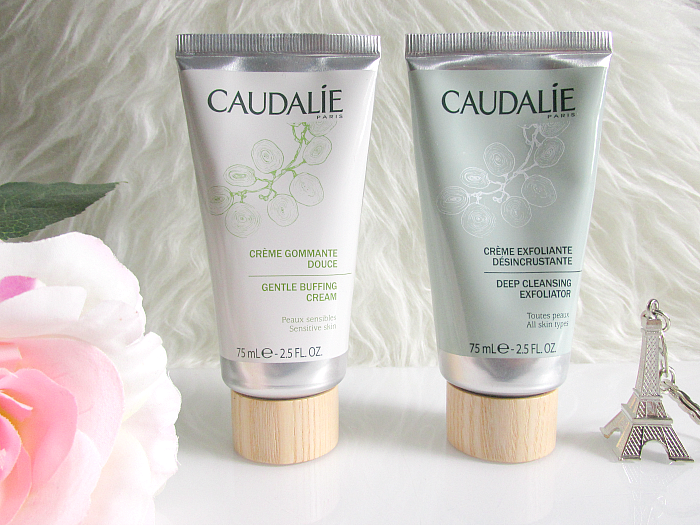 Review: CAUDALIE Peelings - Gentle Buffing Cream & Deep Cleansing Exfoliator