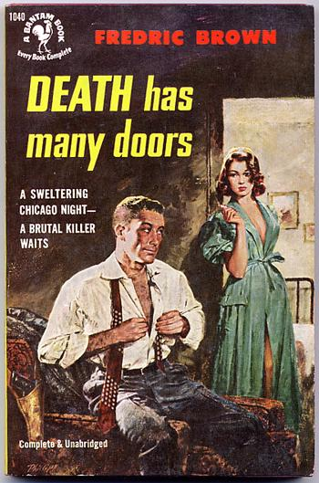 Pretty Sinister Books: Death Has Many Doors - Fredric Brown