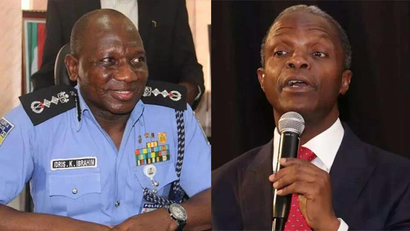 Do you agree? Nigerian policemen among best in the world - Osinbajo