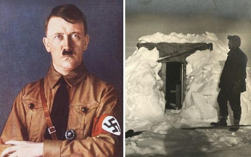 La Marina Real inglesa descubrió una base nazi oculta en la Antártida