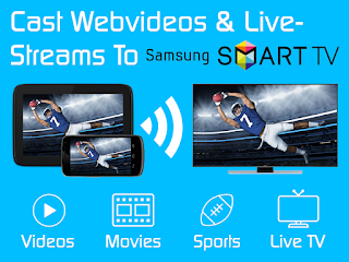 samsung tv cast
