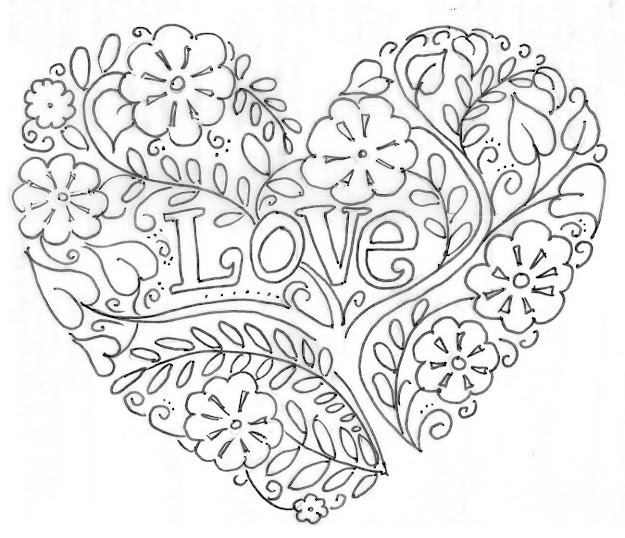 Image Gallery Of Sumptuous Design Ideas Heart Coloring Pages For Adults   Fresh Teenagers