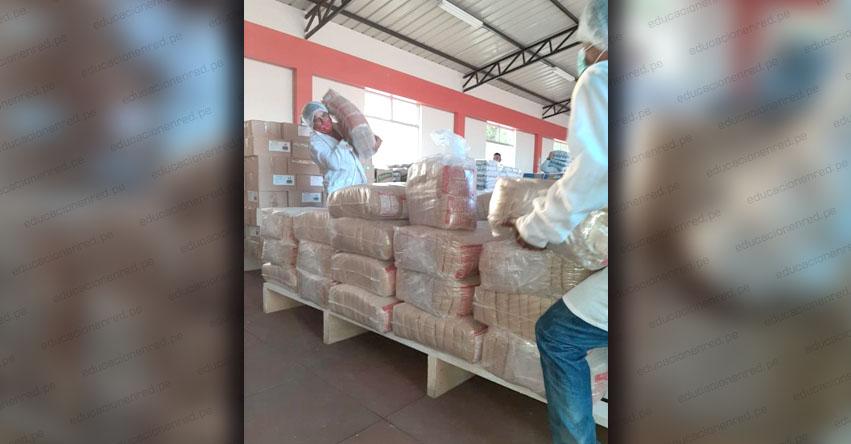 QALI WARMA: Municipalidades de El Dorado y Agua Blanca reciben más de 30 toneladas de alimentos en la región San Martín - www.qaliwarma.gob.pe