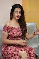 Diksha Panth in a Deep neck Short dress at Maya Mall pre release function ~ Celebrities Exclusive Galleries 030.JPG