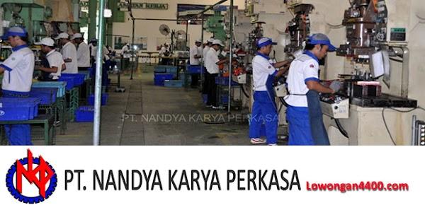Lowongan Kerja PT. Nandya Karya Perkasa Cileungsi Bogor