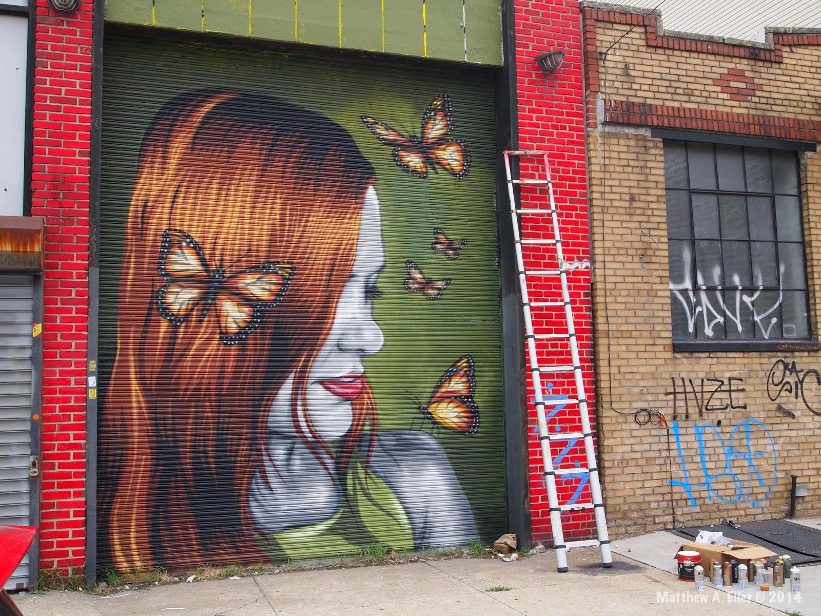 Mr Prvrt Butterfly Effect Bushwick Collective Brooklyn