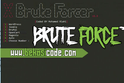 Tools XBrute Forcer v1.1 - Bekasi Code