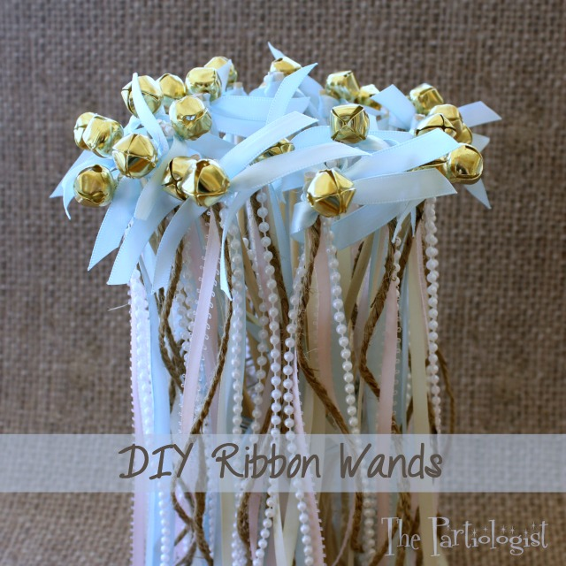 The partiologist diy ribbon wands and now youve got yourself a ribbon wand solutioingenieria Gallery
