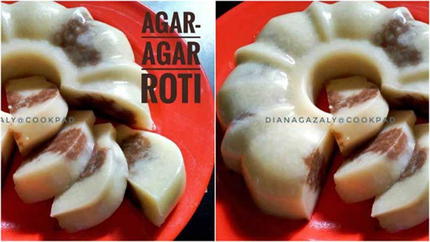 Resep Membuat Agar Agar Roti by Diana Az