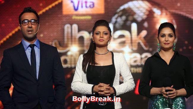 Ranvir Shorey, Madhuri Dixit and  Drashti Dhami, Jhalak Dikhhla Jaa Season 7 Grand Launch Pics