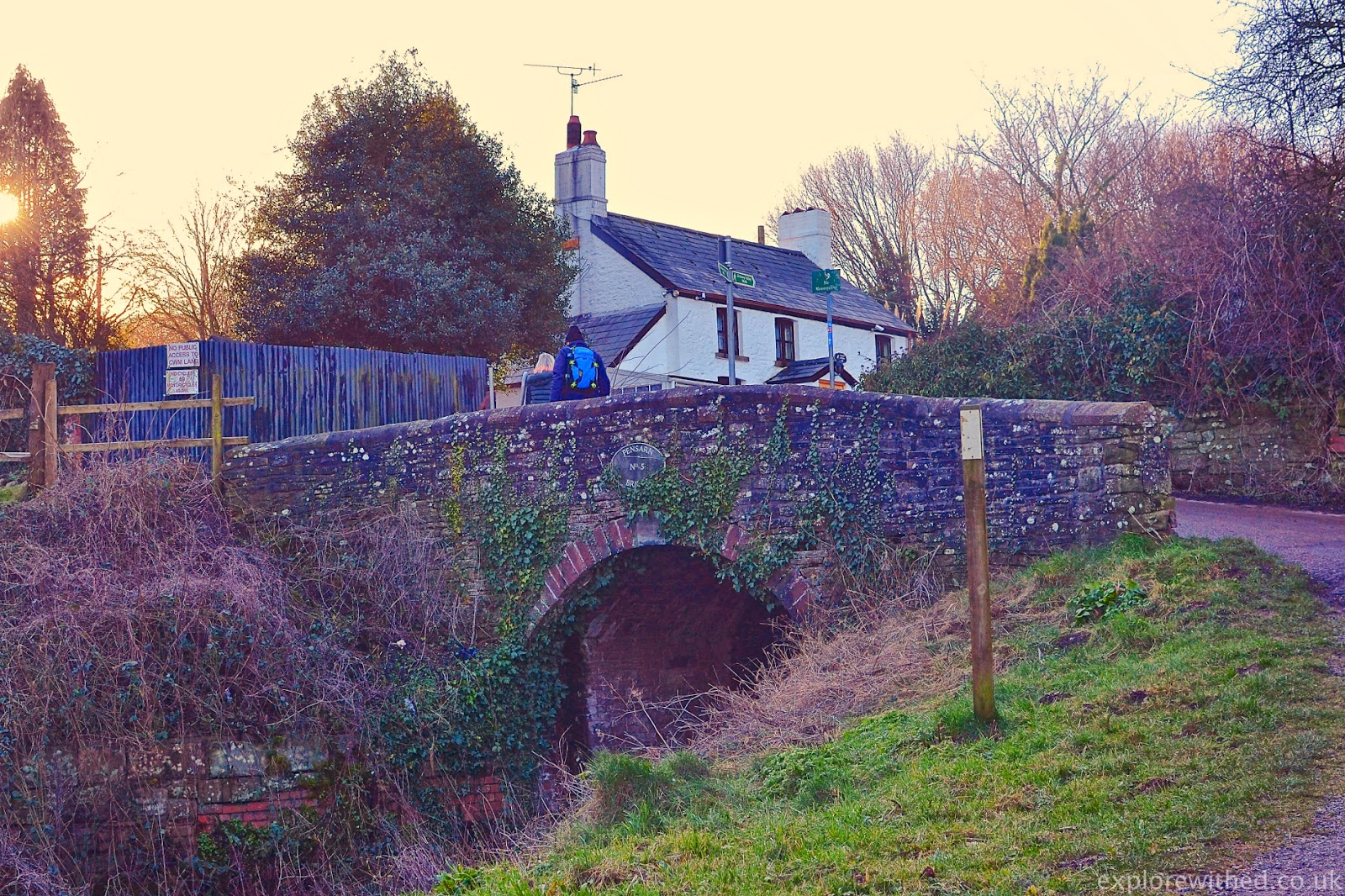 Fourteen Locks Bridge and Cottage