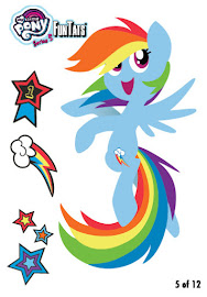 My Little Pony Tattoo Card 5 Series 5 Trading Card