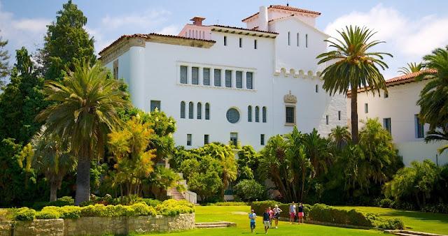 Informações sobre o Santa Bárbara County Courthouse