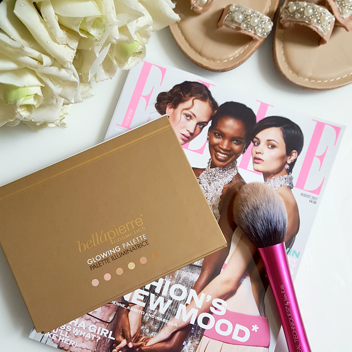 bellápierre Cosmetics - Glowing Palette Highlighter 6 shades - Madame Keke The Luxury Beauty & Lifestyle Blog