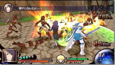 Tales of Heroes: Twin Brave screenshot 3
