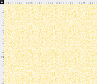 Spoonflower Soft Yellow Lace Fabric