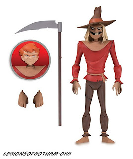 DC Collectibles Scarecrow Figure Batman: The Animated Series