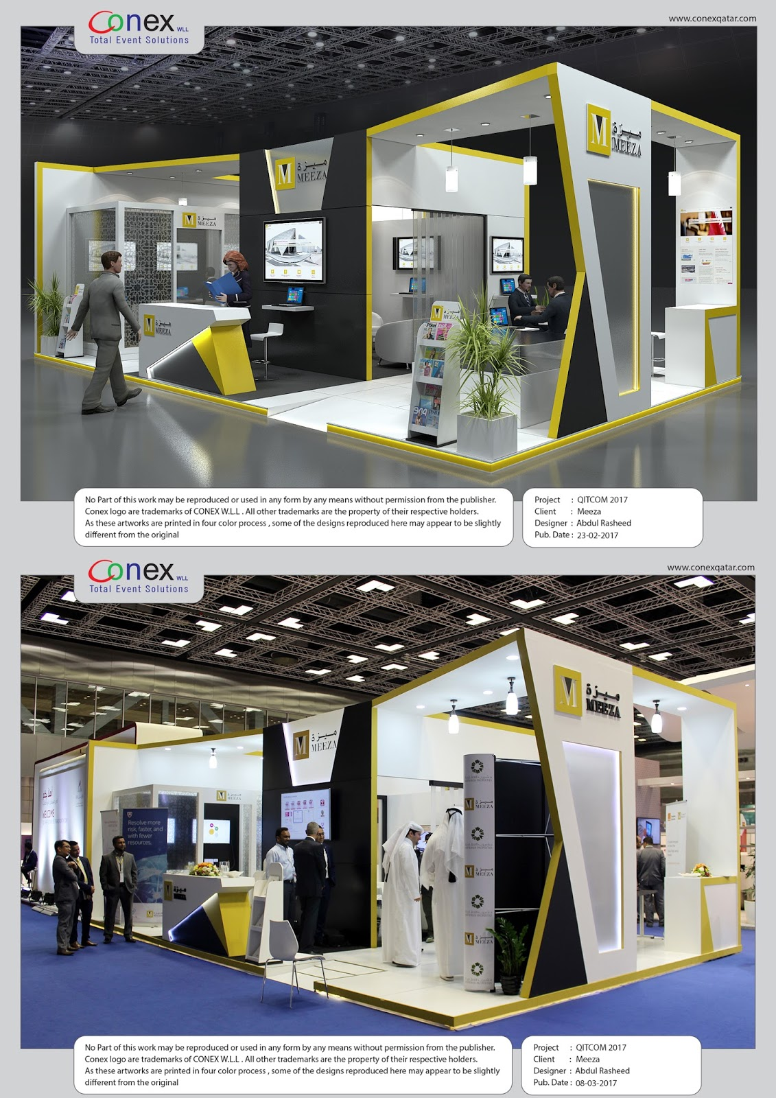 Exhibition Stand Qatar : D designer visualizer events exhibitions interiors