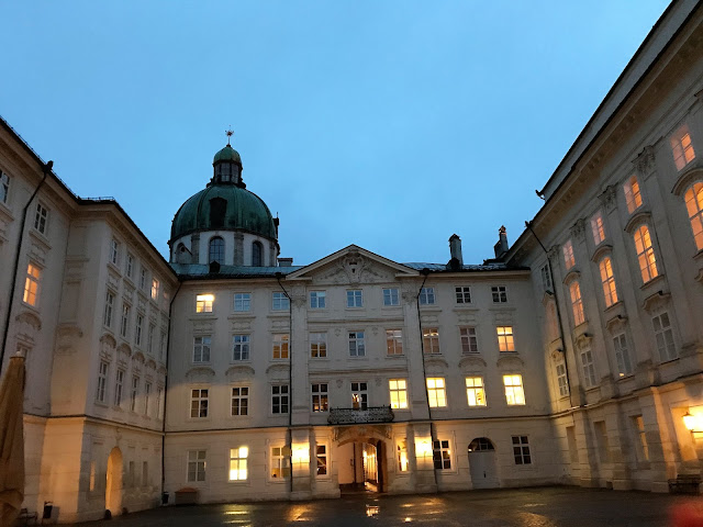 Hofburg Imperial Palace one of the best place you can see in Innsbruck Austria.