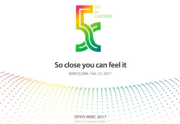Oppo Teases '5x Smartphone Photography Technology' at MWC 2017