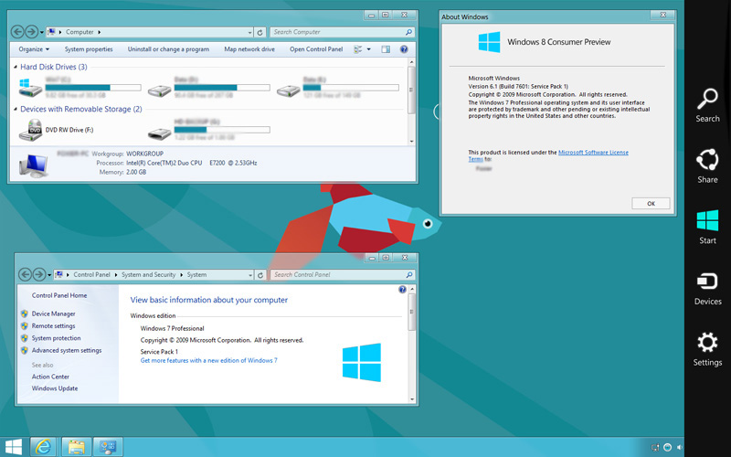 windows 8 transformation pack for windows 7 ultimate
