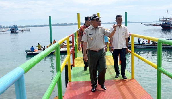 Bangun Taman Burung dan Pemandian, Pulau Tangah Perlu Dana Rp30 M lagi