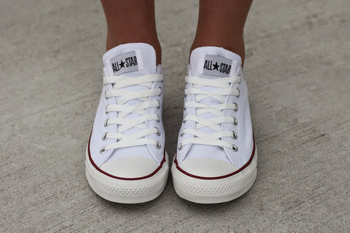 White converse shoes inspiration