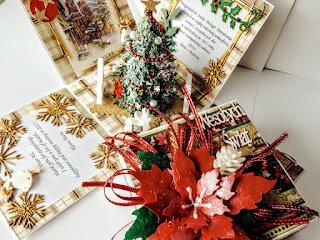 Świąteczny exploding box :)
