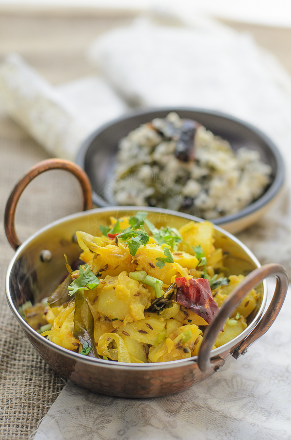 Spiced Potato/ Potato Masala