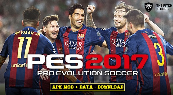 Download PES 2017 APK DATA MOD Android Pro Evolution Soccer 17 Game