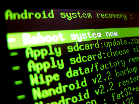 CWM Recovery, xRecovery, Android Recovery