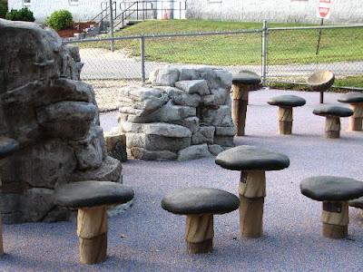 Mushroom Play Area