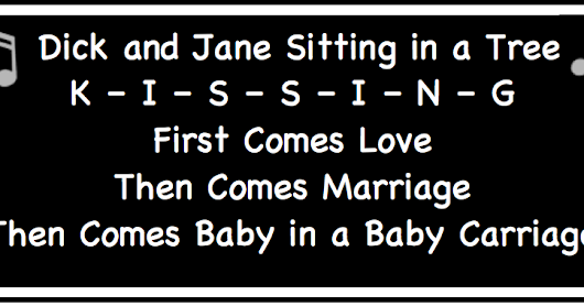 First Comes Love, Then Comes Marriage, and Then Comes Baby in a Baby Carriage. Not Anymore!
