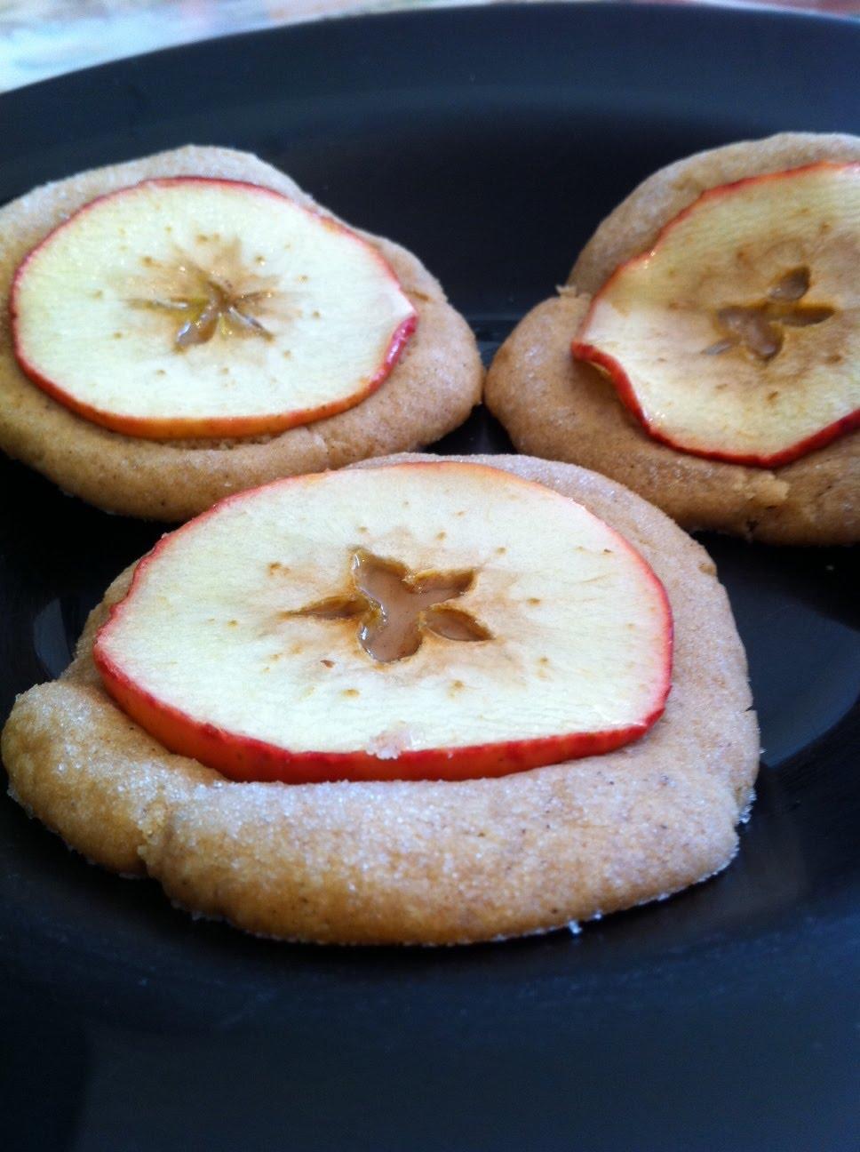 Journey To The Bakery Nutmeg Ginger Apple Snaps